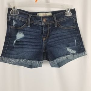 "HOLLISTER midi short longest 4"" size 00/23"